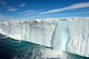 Glacial Waterfall Courtesy of Some Terrific Nature Blog